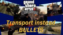 Transporte V2 en lugar de balas