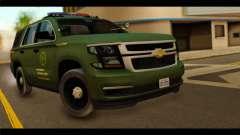 Chevrolet Suburban 2015 SANG para GTA San Andreas