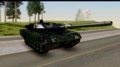 Leopard 2A6 Woodland para GTA San Andreas