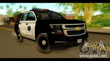 Chevrolet Suburban 2015 SAPD para GTA San Andreas