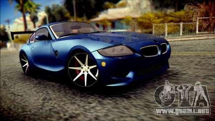 BMW Z4M Coupe 2008 купе para GTA San Andreas