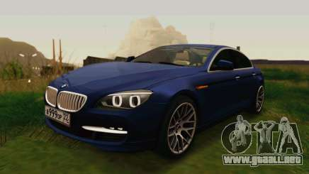 BMW 6 Series Gran Coupe 2014 para GTA San Andreas