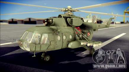 Mil Mi-8 Polish Air Force Afganistan para GTA San Andreas