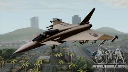 Eurofighter Typhoon 2000 UPEO para GTA San Andreas