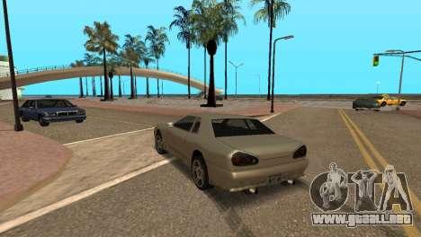 Mejora física de conducción para GTA San Andreas tercera pantalla