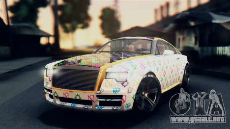 GTA 5 Enus Windsor para vista lateral GTA San Andreas