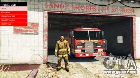 GTA 5 La misión de los bomberos v2.0