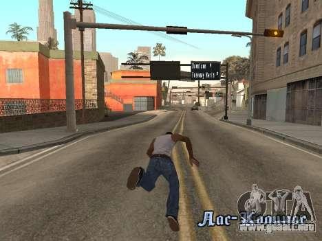 Back Flip para GTA San Andreas tercera pantalla