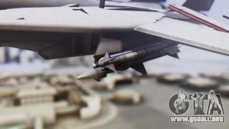 Grumman F-14A Tomcat para la visión correcta GTA San Andreas