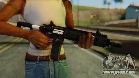 Carbine Rifle from GTA 5 v1 para GTA San Andreas tercera pantalla