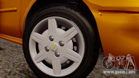 Chevrolet Corsa Classic 2009 v2 para la visión correcta GTA San Andreas