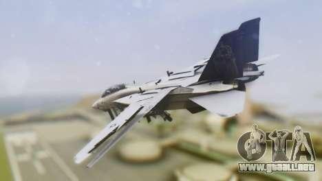 Grumman F-14A Tomcat para GTA San Andreas left