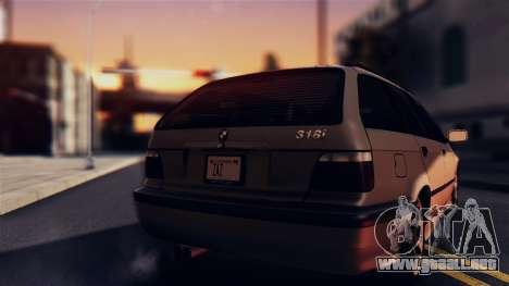 BMW 316i Touring para la visión correcta GTA San Andreas