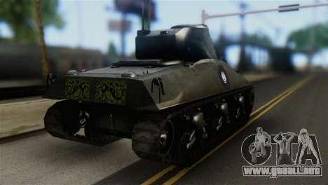 M4 Sherman Gawai Special 2 para GTA San Andreas left