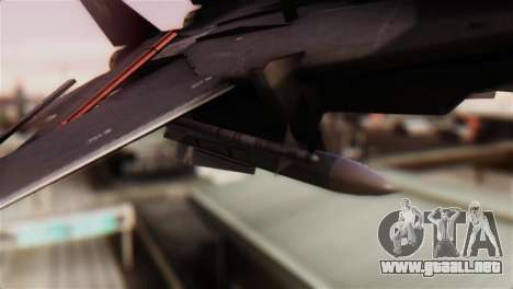 Grumman F-14D Super Tomcat para la visión correcta GTA San Andreas