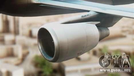 LOT Polish Airlines Airbus A320-200 para la visión correcta GTA San Andreas