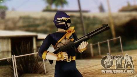 Power Rangers Skin 4 para GTA San Andreas tercera pantalla