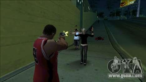 GTA 5 Kill Flash Effect para GTA San Andreas segunda pantalla