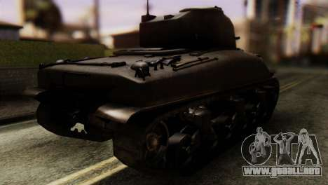 M4 Sherman v1.1 para GTA San Andreas left