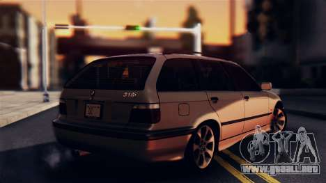 BMW 316i Touring para GTA San Andreas left