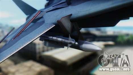 F-14J Super Tomcat JASDF para la visión correcta GTA San Andreas
