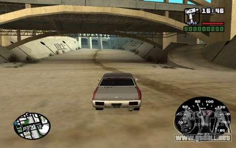 Velocímetro de VAZ 2105 para GTA San Andreas