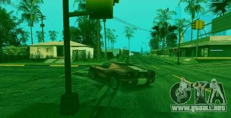 La habilidad especial de Franklin indicador para GTA San Andreas tercera pantalla
