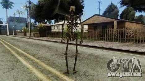 Skeleton Skin v2 para GTA San Andreas tercera pantalla
