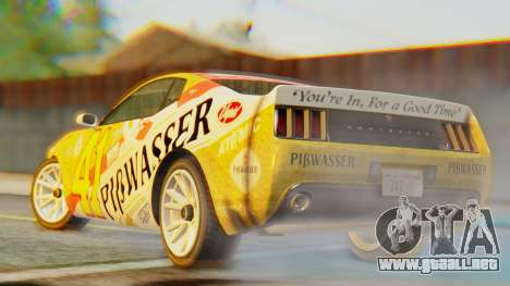 GTA 5 Vapid Dominator Pisswasser IVF para GTA San Andreas left