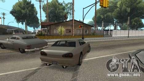 Mejora física de conducción para GTA San Andreas