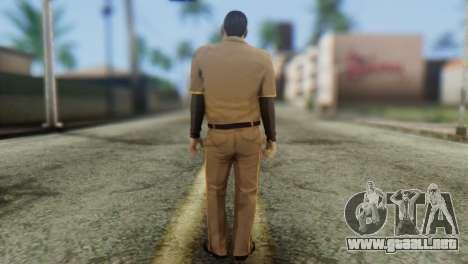 Post OP Skin from GTA 5 para GTA San Andreas segunda pantalla