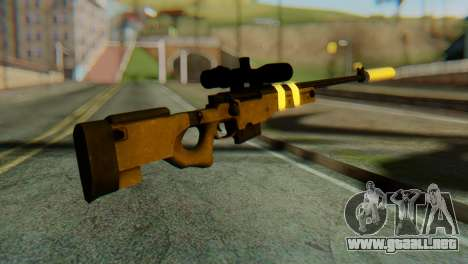 L96 Bandage Silencer para GTA San Andreas segunda pantalla