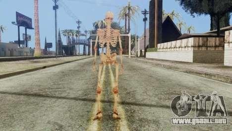Skeleton Skin v1 para GTA San Andreas tercera pantalla
