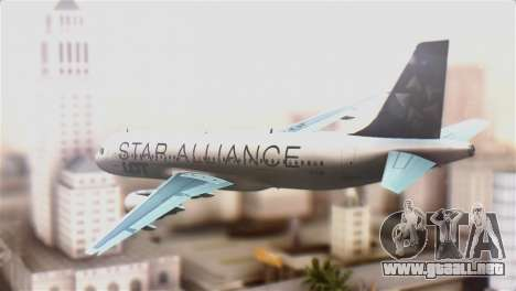 LOT Polish Airlines Airbus A320-200 para GTA San Andreas left