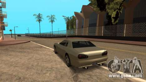 Mejora física de conducción para GTA San Andreas segunda pantalla