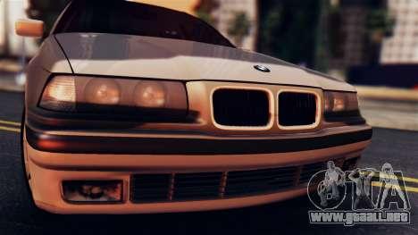 BMW 316i Touring para GTA San Andreas vista posterior izquierda