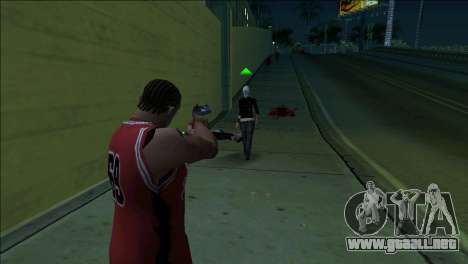 GTA 5 Kill Flash Effect para GTA San Andreas tercera pantalla
