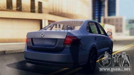 Volkswagen Polo para GTA San Andreas left