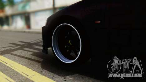 Honda Civic EG6 Kotomi Clannad Itasha para GTA San Andreas vista posterior izquierda