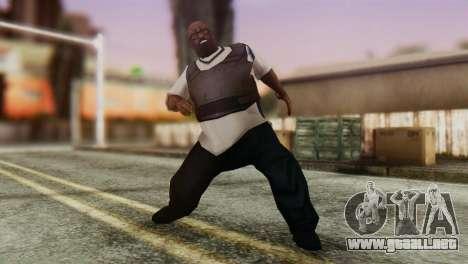 Big Smoke Skin 2 para GTA San Andreas tercera pantalla