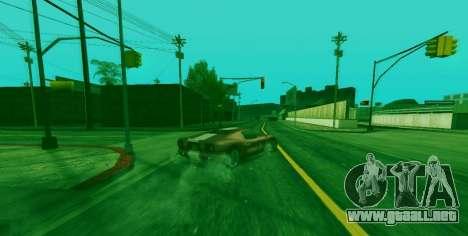 La habilidad especial de Franklin indicador para GTA San Andreas segunda pantalla