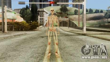 Skeleton Skin v1 para GTA San Andreas segunda pantalla