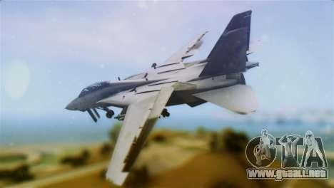 F-14A Tomcat VF-111 Sundowners Low Visibility para GTA San Andreas left