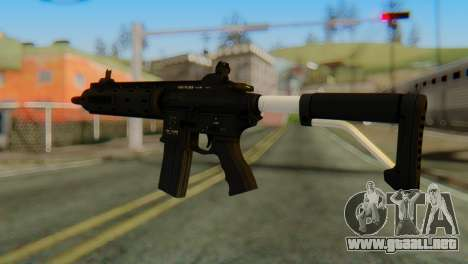 Carbine Rifle from GTA 5 v1 para GTA San Andreas segunda pantalla
