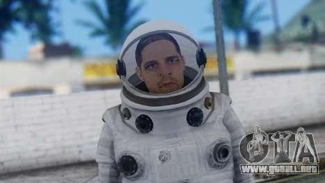 Astronaut Skin from GTA 5 para GTA San Andreas tercera pantalla