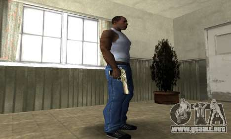 La Luz Fría Deagle para GTA San Andreas tercera pantalla