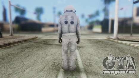 Astronaut Skin from GTA 5 para GTA San Andreas segunda pantalla