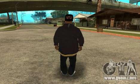 Groove Skin para GTA San Andreas tercera pantalla