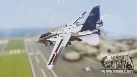 F-14D Tomcat Macross Yellow & Black para GTA San Andreas left