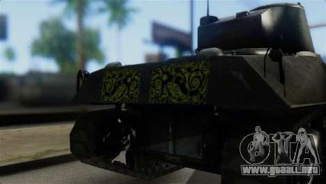 M4 Sherman Gawai Special 2 para GTA San Andreas vista hacia atrás